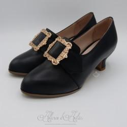 TRIANON - Chaussures (1700-1760) Noir